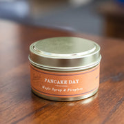 Pancake Day Candle