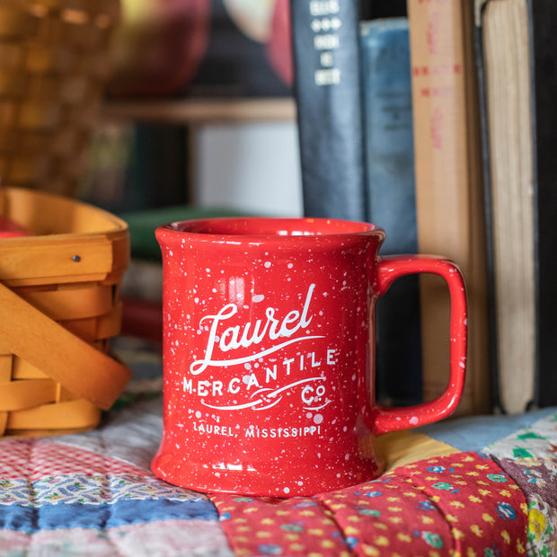 Laurel Mercantile Red Bistro Mug