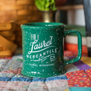 Laurel Mercantile Green Bistro Mug