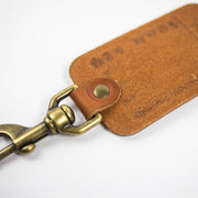 Scotsman Leather Luggage Tag