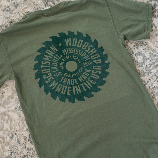 Retro Circular Saw T-Shirt