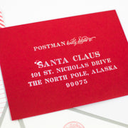 Santa Claus Letter Writing Kit