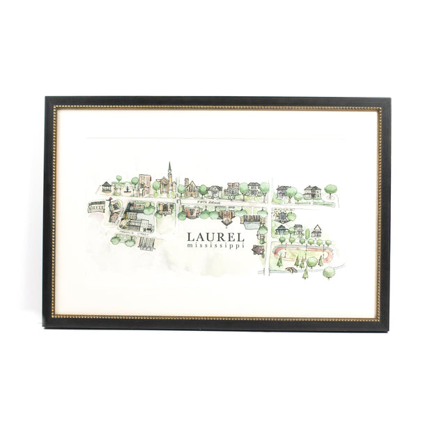 Adam Trest 5th Avenue Laurel Print