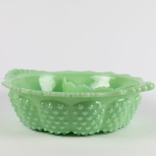 Gigi Jadeite Melon Divided Bowl