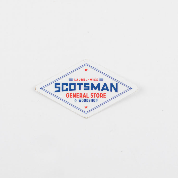 Scotsman General Store Die Cut Decals