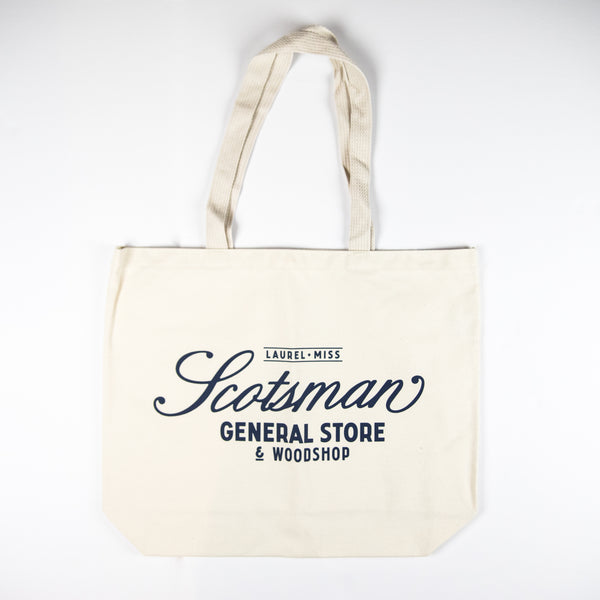Scotsman General Store Canvas Tote
