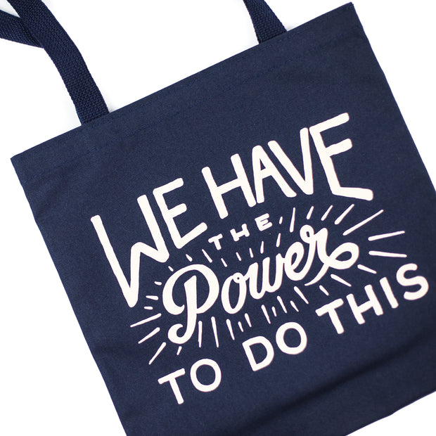 Power Canvas Tote