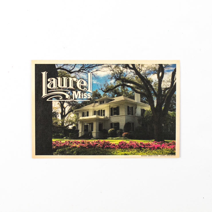 Laurel Postcard Souvenir