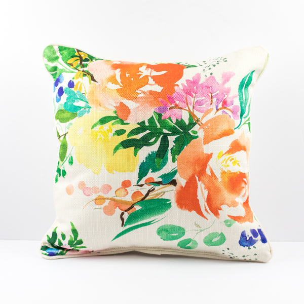 Spring Floral Pillow