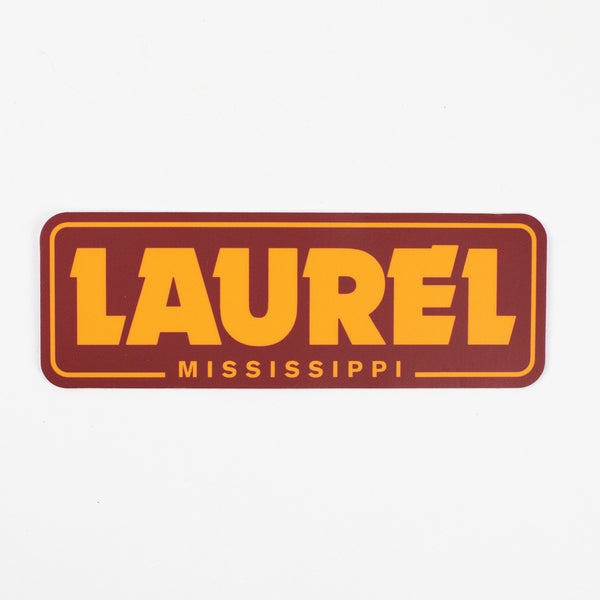 Laurel Die Cut Decal
