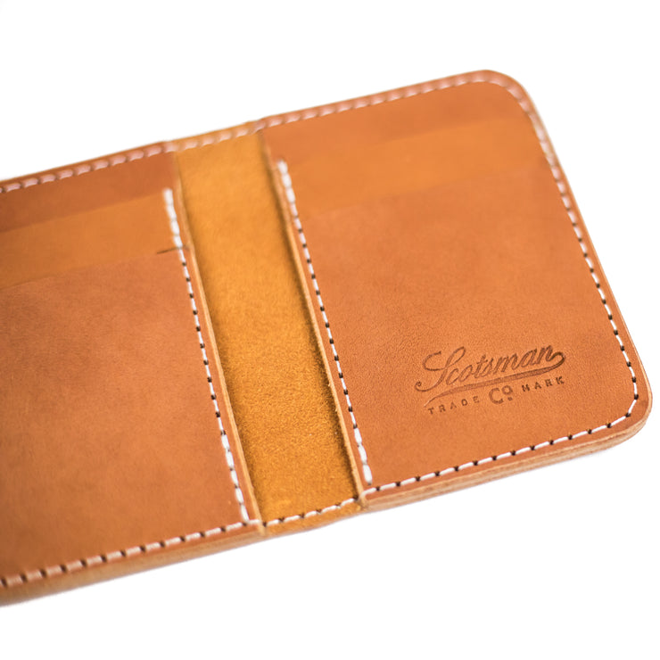 Scotsman Small Bi-Fold Wallet
