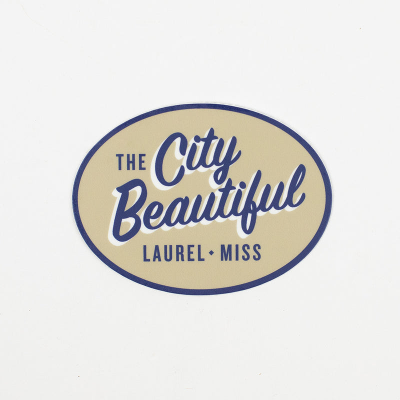 City Beautiful Die Cut Decal