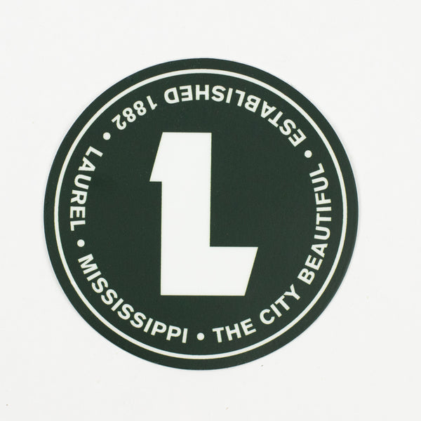Circle L Die Cut Decal