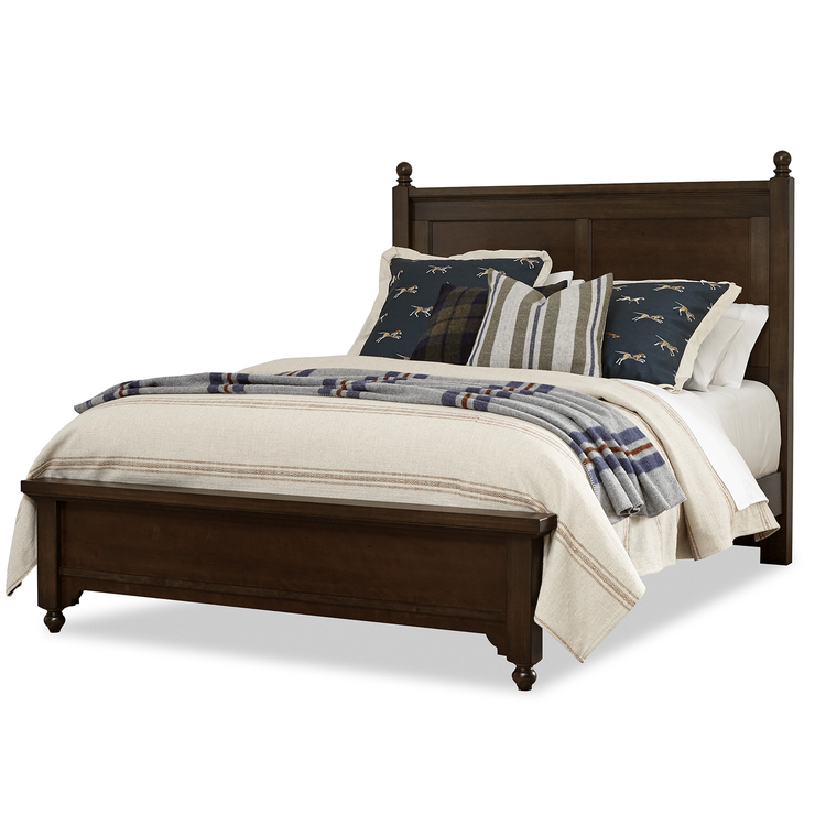 LMCo. Home Collection Gilchrist Poster Bed with Low Profile Footboard