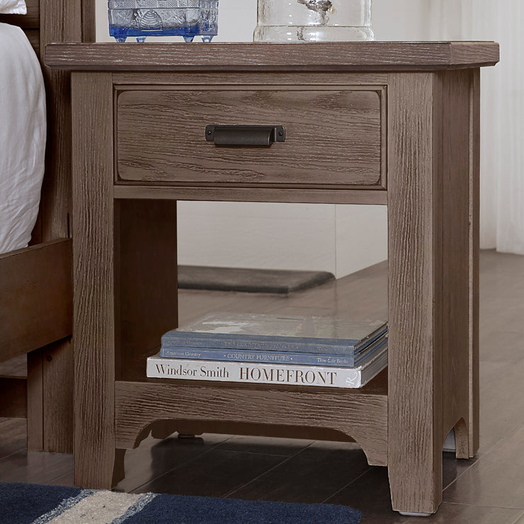 LMCo. Bungalow Collection Night Stand - 1 Drawer