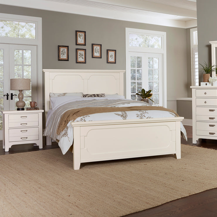 LMCo. Bungalow Collection Panel Bed with Panel Footboard - King and Queen