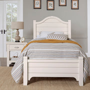 LMCo. Bungalow Collection Arch Bed with Low Profile Footboard - Twin and Full