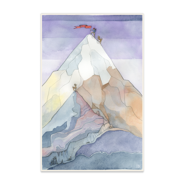 Adam Trest Adventure | Mountain Print