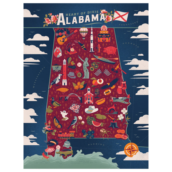 True South Alabama Puzzle