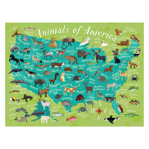 True South Animals of America Puzzle