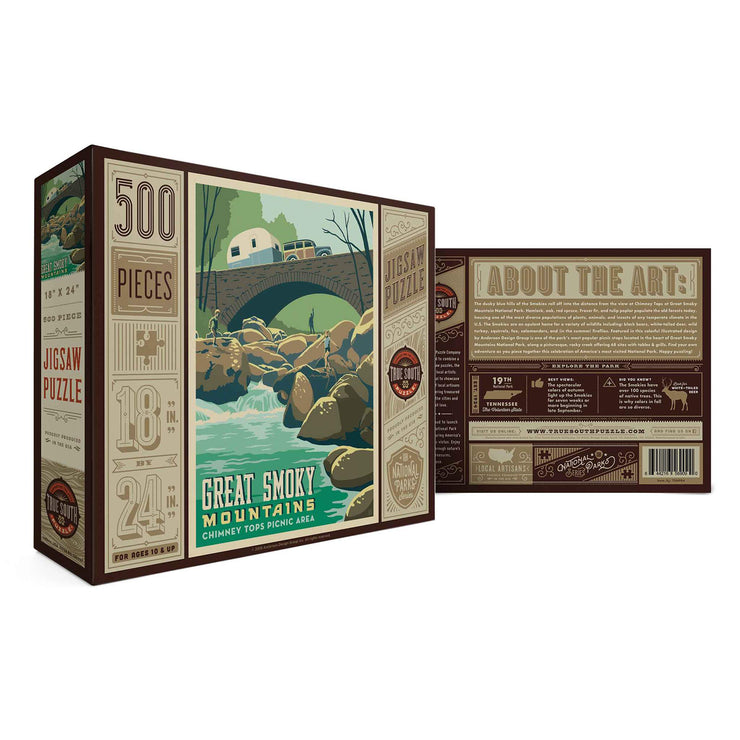 True South Chimney Tops Picnic Puzzle
