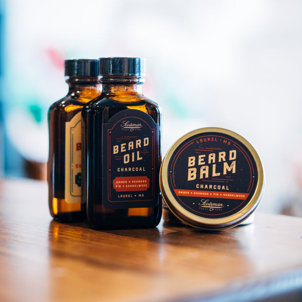Scotsman Co. Beard Balm | Charcoal