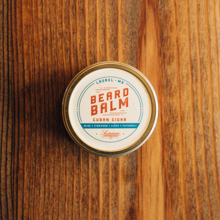 Scotsman Co. Beard Balm | Cuban Cigar
