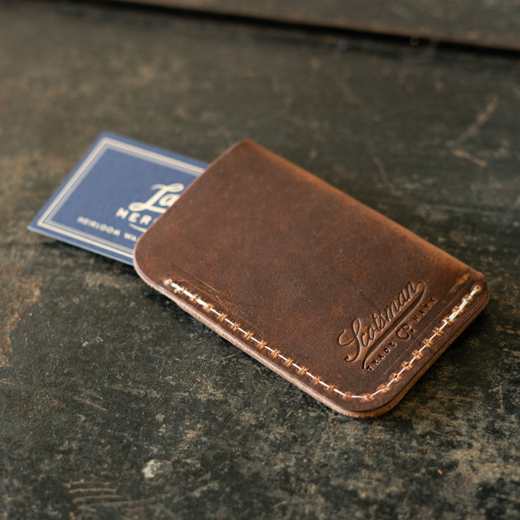 Scotsman Leather Business Card Holder