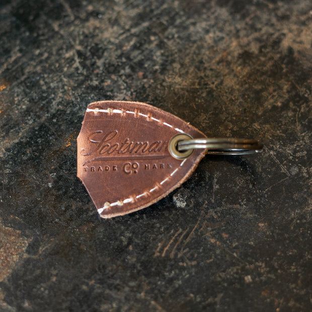 Leather Pick Holder Keychain