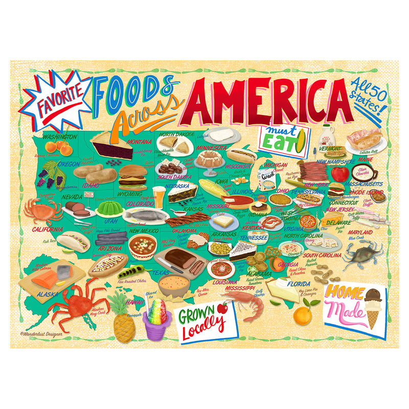 True South Foods Across America Puzzle