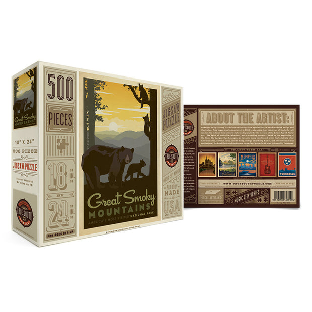 True South Great Smoky Mountains Puzzle