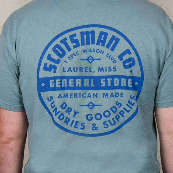 Scotsman General Store Badge Logo T-shirt