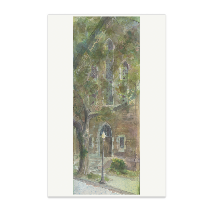 Adam Trest Laurel Historic Churches | First Trinity Presbyterian Print