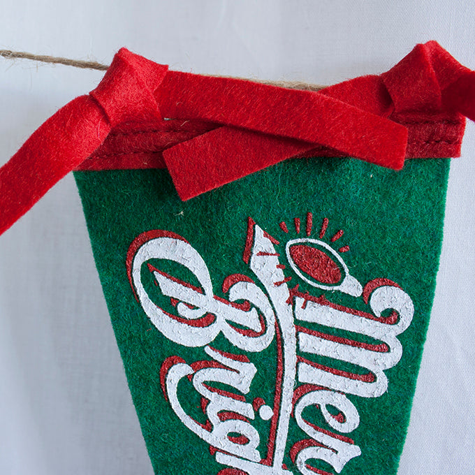 Mini Pennant - Holiday