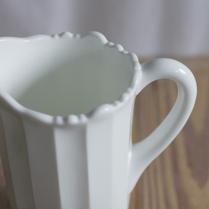 Panel Glass Pitcher