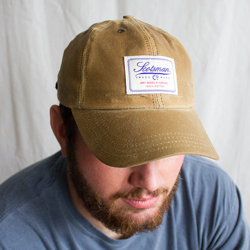 Scotsman Co. Waxed Cotton Cap