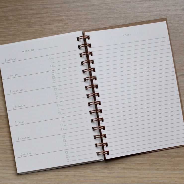 Plan - Weekly Planner Notebook