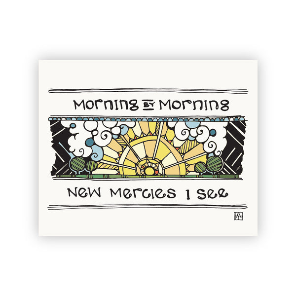Adam Trest Morning by Morning Print