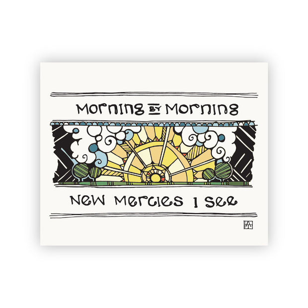 Adam Trest Prayer | Morning by Morning Print