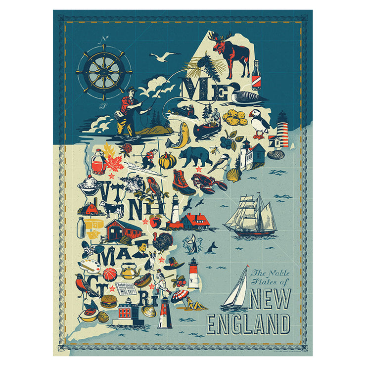 True South New England Puzzle