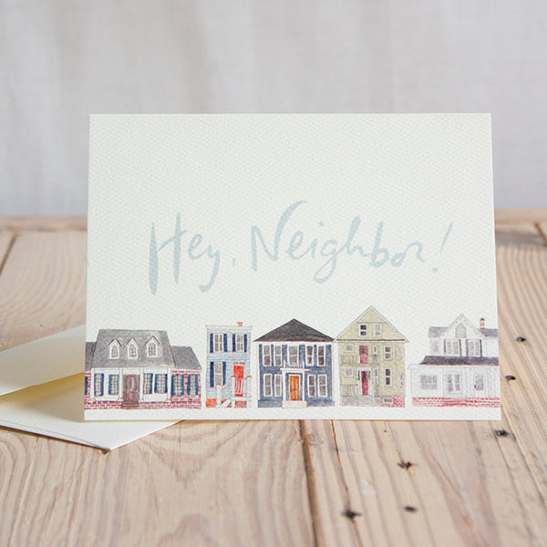 Neighbors Notecard Set