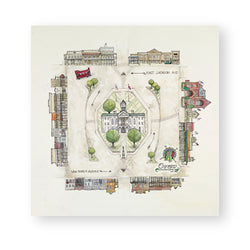 Adam Trest Oxford Square Print