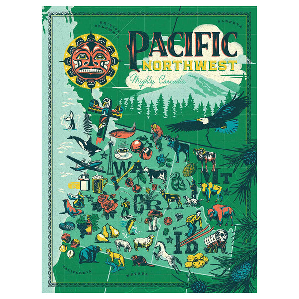 True South Pacific Northwest Puzzle