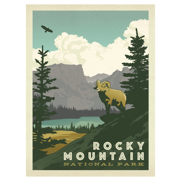 True South Rocky Mountain Puzzle