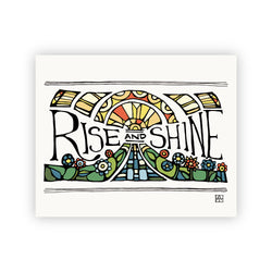 Adam Trest Rise and Shine Print