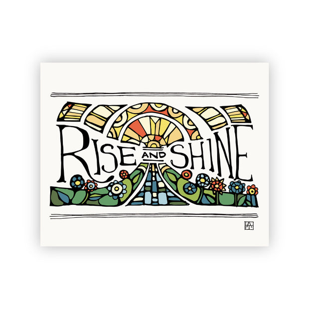 Adam Trest Prayer | Rise and Shine Print