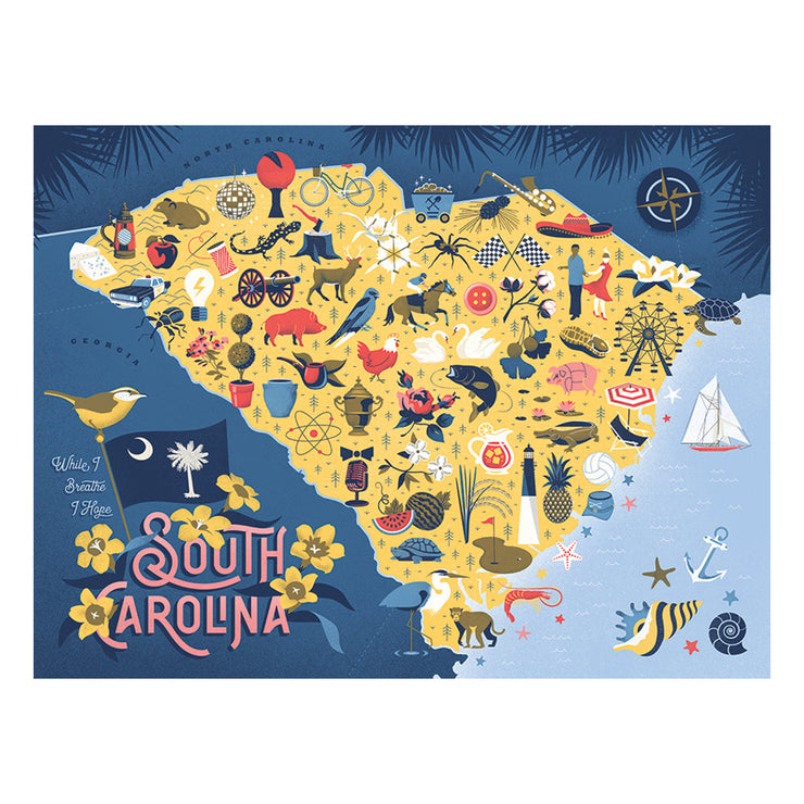 True South South Carolina Puzzle