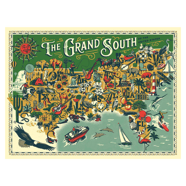 True South The Grand South Puzzle