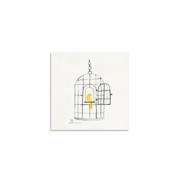 Adam Trest Tiny Art Birdcage