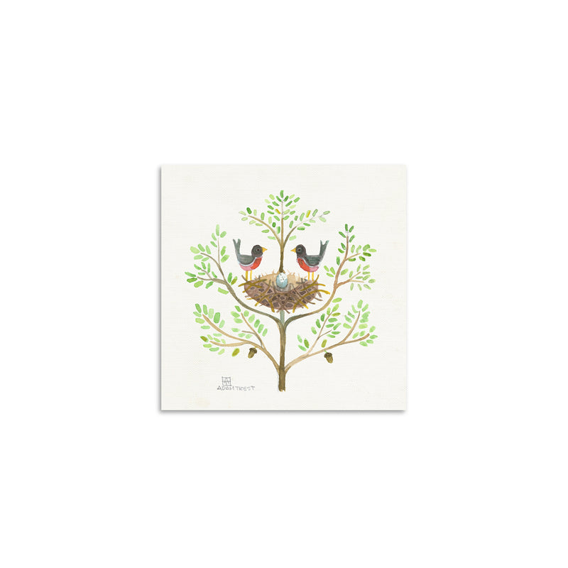 Adam Trest Tiny Art Nest Print